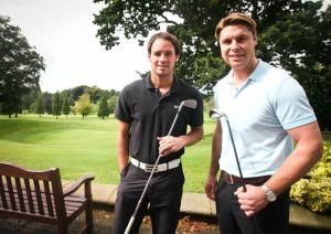 CLUB MATES: Matt Jansen and Garry Flitcroft