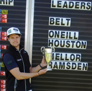 ALEX BELT: Champion again