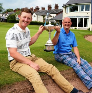 TOP SHOTS: Steve Parry, left, and Terry Battersby