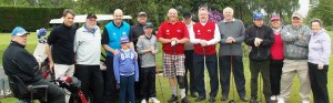 TEE TIME: Disabled golfers at Whitefield