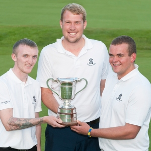 TOP TRIO: Daniel Creaney, Sean Towndrow and Sean Blinkhorn