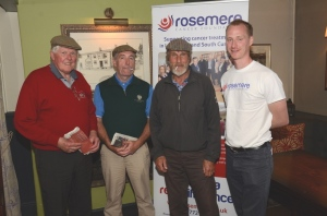 WINNERS: From left,: Garry McAllester, Jim Walker, Ian McDonnell and Dan Hill (Rosemere CF)