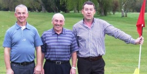 PRYLE OF ACES: From left, Steve Webster, Terry Fletcher and  Ian Liptrot.