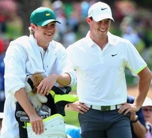 READY FOR ACTION: Horan and McIlroy