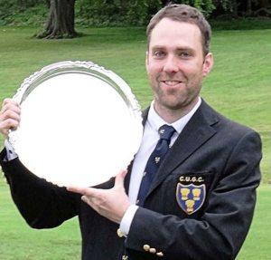 CHAMPION AGAIN: John Beesley