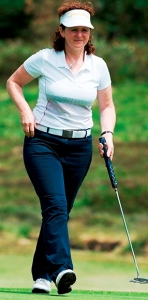 ON TARGET: Cath Rawthore. Image Leaderboard Photography