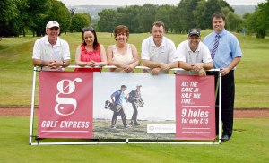 Golf Express players at Druids Heath  Staffordshire