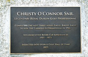ROYAL DUBLIN GC CHRISTY OCONNOR