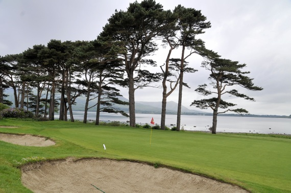 The 18th Green, Mahony's Point, Killarney Golf and Fishing Club, County Kerry