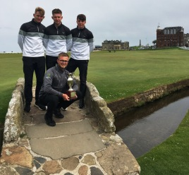 Myerscough Golf Team - AoC National Champions - St Andrews.jpg
