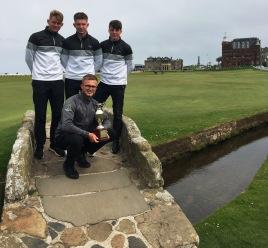 Myerscough Golf Team - AoC National Champions - St Andrews.jpg