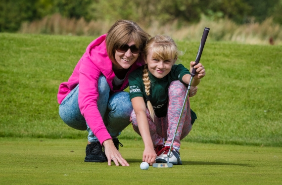 A Mother and Daughter enjoy a GolfSixes event run by the Golf Foundation.jpg